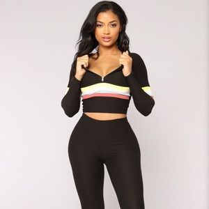 Soni Striped Lounge Set from FN